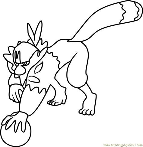 coloring pages pokemon sun and moon passimian pokemon sun and moon coloring page free