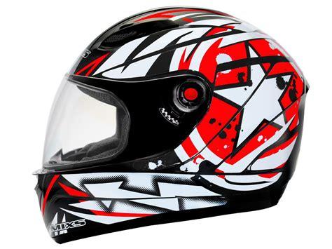 capacete ms fokker paint mixs vermelho tam 58