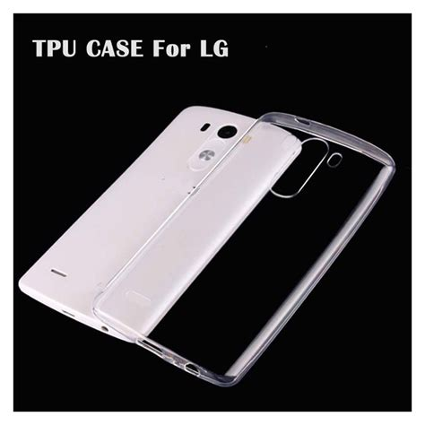 Ultrathin Softcase Lg G4 Beat Clear ultra thin slim clear transparent soft tpu for lg g2 g3 g4