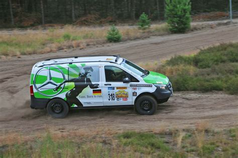mercedes rally mercedes vito rallye a 239 cha des gazelles winner tested by