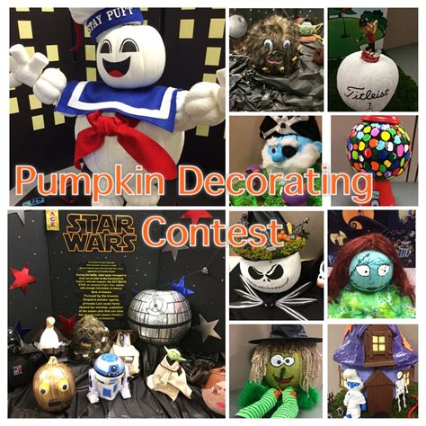 fall pumpkin decorating contest counting candles
