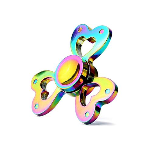 Rainbow Fidget Spinner rainbow fidget spinner aluminium alloy spinners