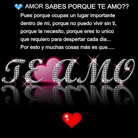 Te Amo And Tes On Pinterest | te amo amor de amores pinterest tes te amo and ps