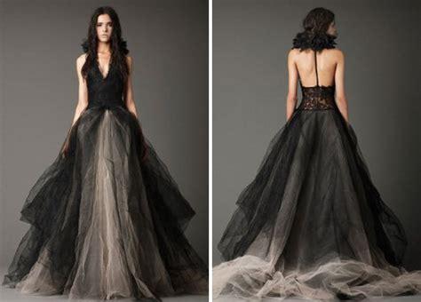 White Rock Wedding Dresses by 18 Beautiful Black Wedding Dresses Brit Co