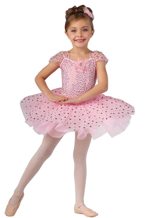 Kid Balerina Pink 15231 pretty in pink showcase performance costumes recital wear