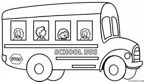 20 free printable school bus coloring pages