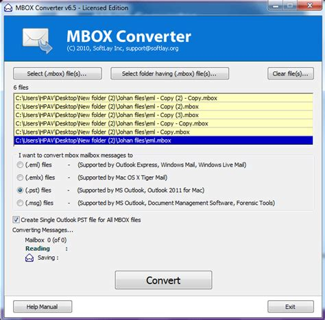 format html outlook 2007 how to convert mbox to outlook