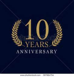 anniversary logo template 10 stock photos royalty free images vectors