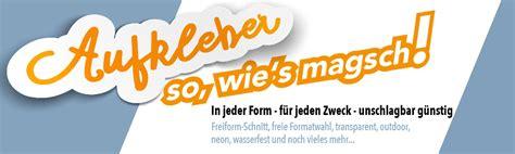 Etiketten Drucken Online Druckerei by Aufkleber Und Etiketten Vom Testsieger Qualit 228 T G 252 Nstig