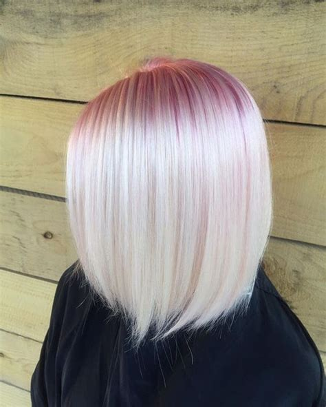 pink hair brown shadow root chocolate strawberry ombre of chocolate strawberry hair color 35 new hairstyles and looks to try out this year