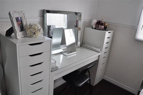 ikea makeup organizer makeup by cheryl h ikea vanity redecoration and makeup