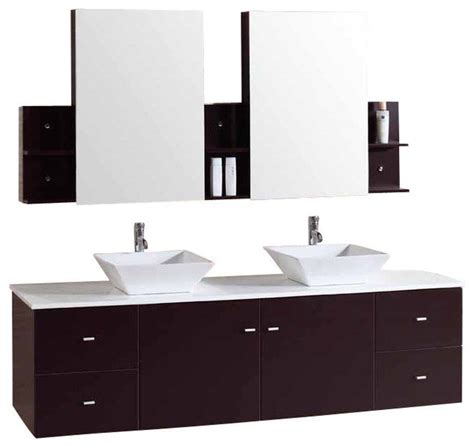 contemporary bathroom furniture cabinets shop houzz kokols 72 quot floating furniture bathroom vanity