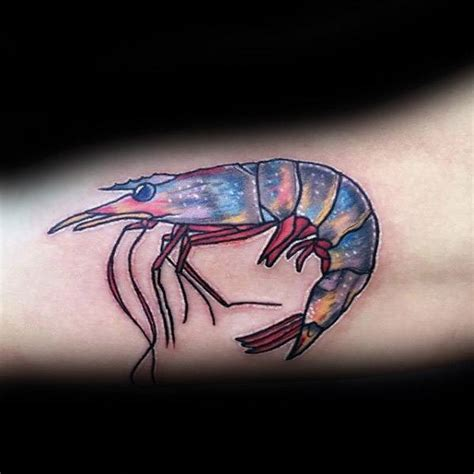 shrimp tattoo 40 shrimp designs for oceanic ink ideas