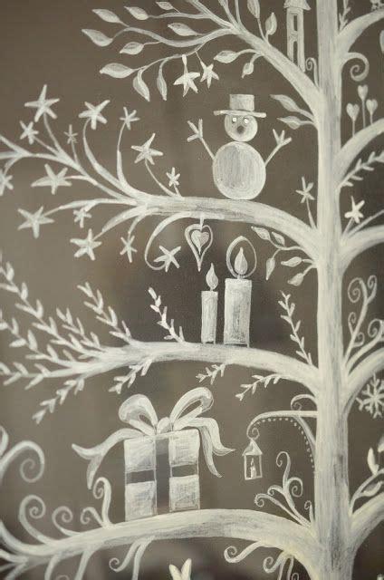 Fensterdekoration Weihnachten Mit Vorlagebö Und Einem Kreidestift by 25 Einzigartige Fensterbilder Vorlagen Ideen Auf
