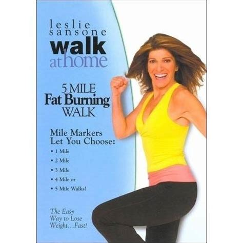 leslie sansone walk at home 5 mile burning walk