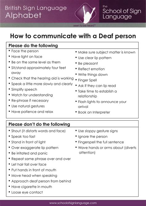 how to a deaf deaf awareness week 2016 school of sign language