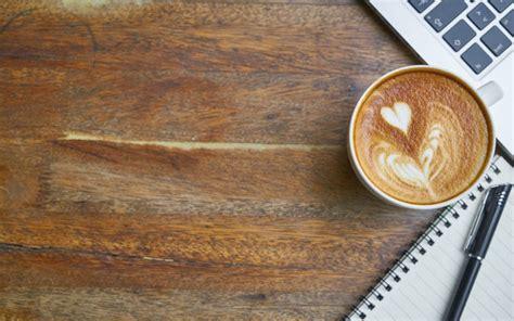 coffee diary wallpaper desktop wallpaper coffee cup coffee diary book laptop