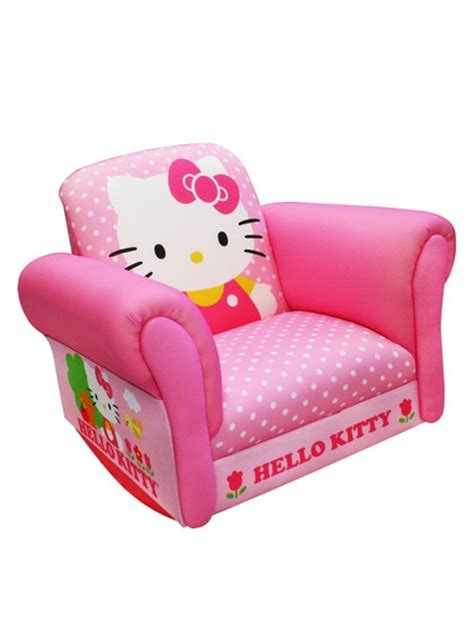 hello kitty sofa chair hello kitty rocking chair baby zs pinterest