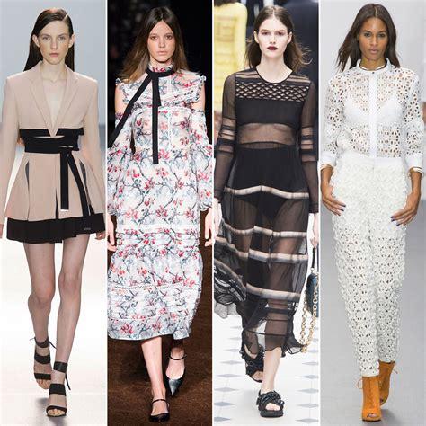popular trends 2016 london fashion week trends spring 2016 popsugar fashion
