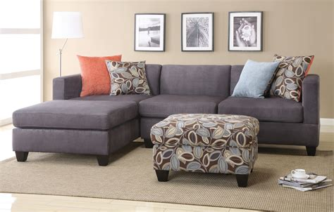 2 Piece Sectional Sofa With Chaise Design Homesfeed Sectional Sofa Pieces
