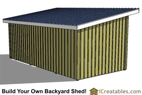 Tack Shed Plans by 12x24 Run In Shed And Tack Room Plans