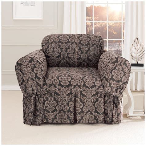 sure fit slipcover chair sure fit 174 middleton chair slipcover 581235 furniture