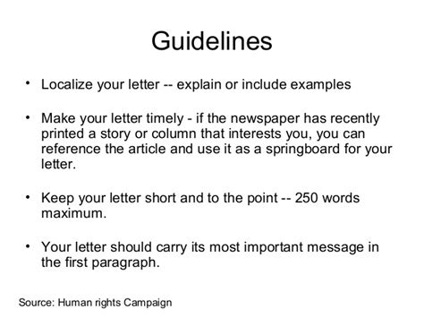 how to write a letter to the editor letter to the editor