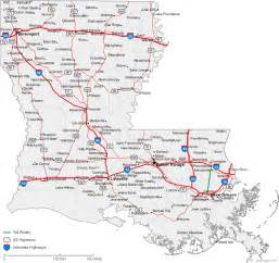 louisiana driving map louisiana road map with cities