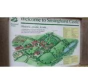 Sissinghurst Castle Gardens Map  Picture Of