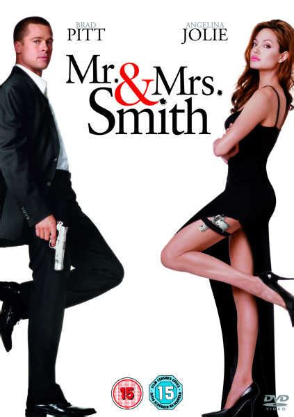 Mr Mrs Smith 2005 Dvd Zavvi Mr And Mrs Smith Save The Date Template