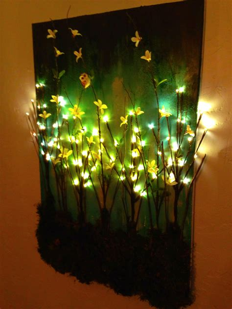 canvas with led lights canvas light up wall 10 ideal wall decorations