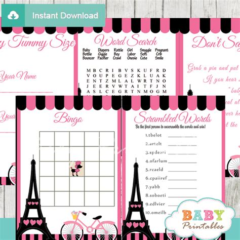 Tower For Baby Shower by Pink Eiffel Tower Baby Shower D222 Baby