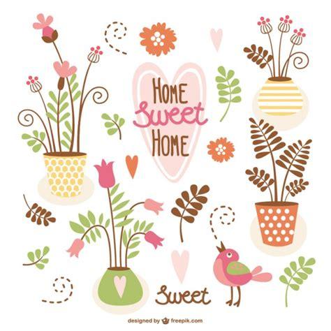 home hogar dulce hogar gracias por vuestro planeta conjunto de vectores de hogar dulce hogar descargar vectores gratis