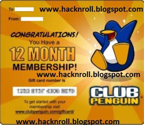 free club penguin membership hack n roll