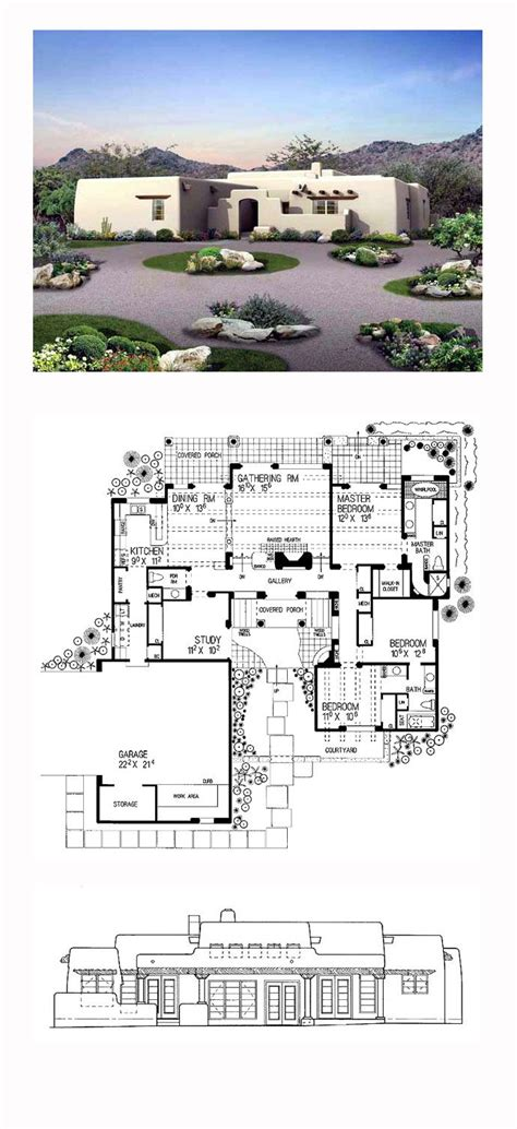adobe homes plans 17 best images about adobe home plans on pinterest