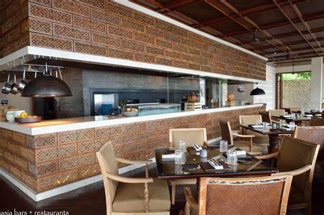 Balinese Kitchen Design sundara beachfront restaurant at four seasons resort