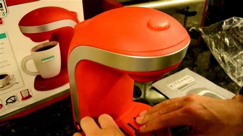 kitchen selectives single serving coffee maker 20 cheap