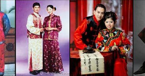 Baju Prewedd Budaya China Chef Kecilku Pakaian Tradisional Masyarakat Cina