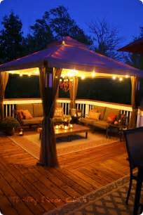 outdoor tent lighting ideas gazebo lighting on pergola decorations patio