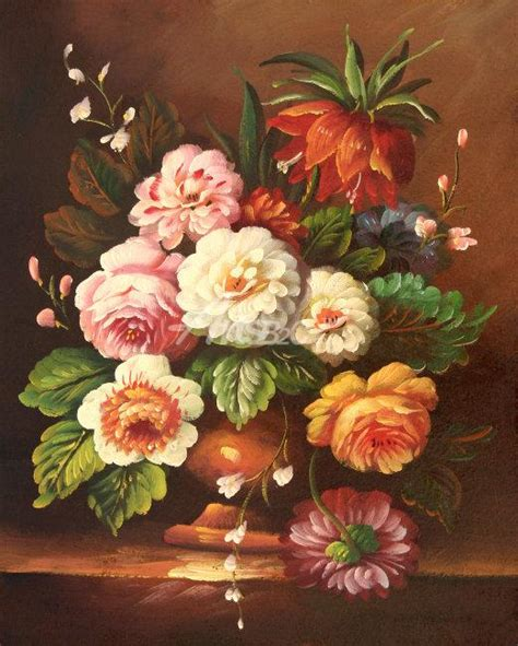 classic flower painting paintings for sale cheap