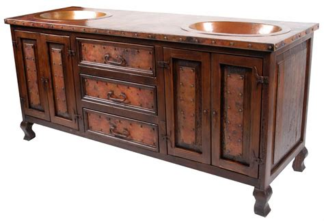 vanities with copper sink oldecopper