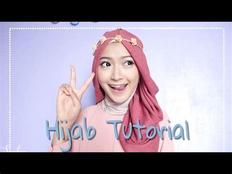 tutorial hijab hamidah rachmayanti hijab tutorial office look by zahratul jannah funnydog tv