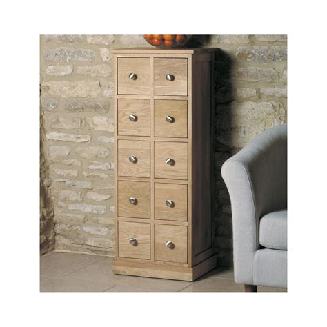 Cd Chest Of Drawers by Mobel Solid Oak Furniture Cd Dvd Storage Chest Of Drawers Ebay