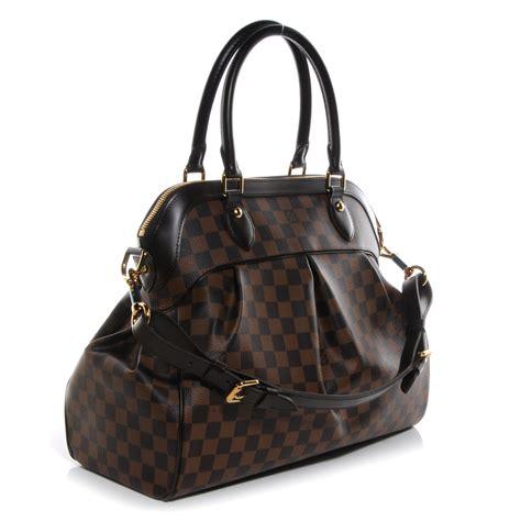 Tara It Up With A Louis Vuitton Damier Azur Saleya Tote by Louis Vuitton Damier Ebene Trevi Gm 62110