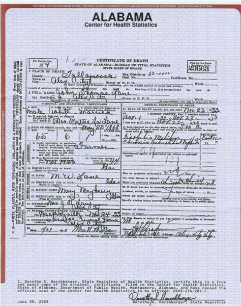 Birth Records Alabama Tallapoosa County Alabama Usgenweb Archives
