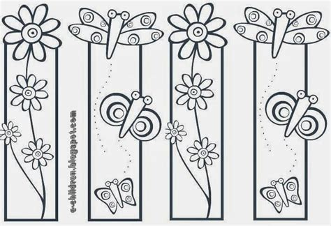 printable bookmarks spring spring bookmark pyrography projects pinterest spring
