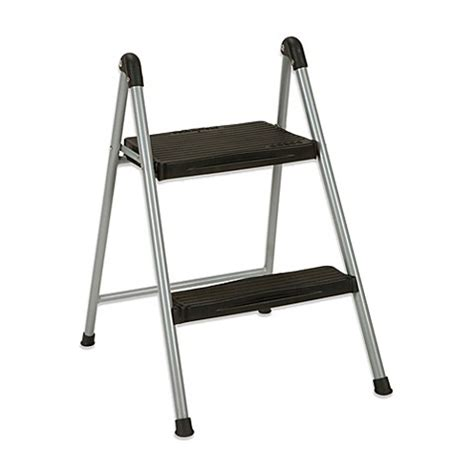 Step Stool For Bed Target by Cosco 174 2 Step Folding Steel Step Stool Bed Bath Beyond