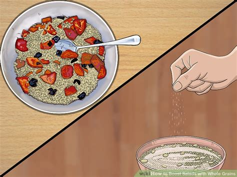 salads with whole grains 3 ways to boost salads with whole grains wikihow