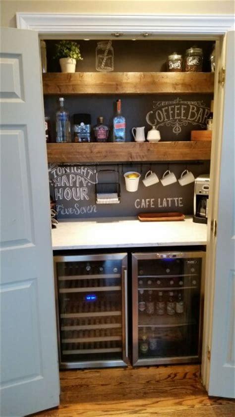 Closet Bars by Coffee And Liquor Closet Bar Closet Bar