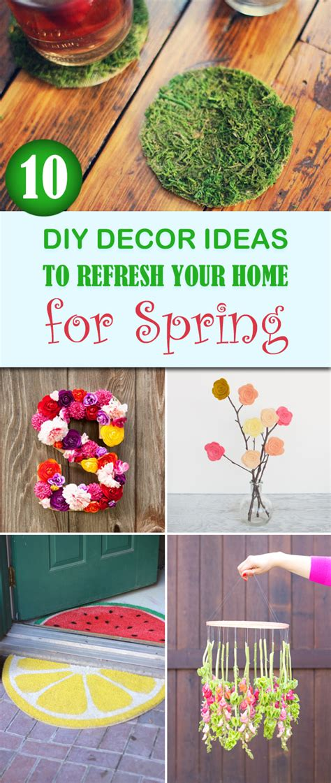 10 tips diy ideas to refresh your home for spring 10 diy decor ideas to refresh your home for spring
